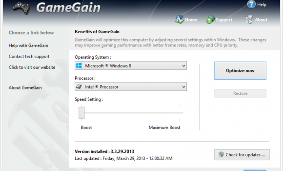 GameGain Ekran Görüntüleri - 2