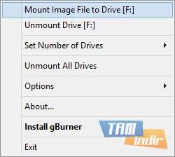gBurner Virtual Drive Ekran Görüntüleri - 2