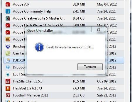 GeekUninstaller Ekran Görüntüleri - 1
