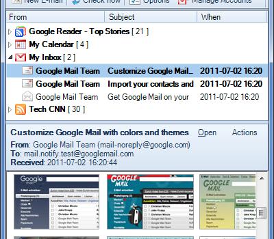 Gmail Notifier Pro Ekran Görüntüleri - 2