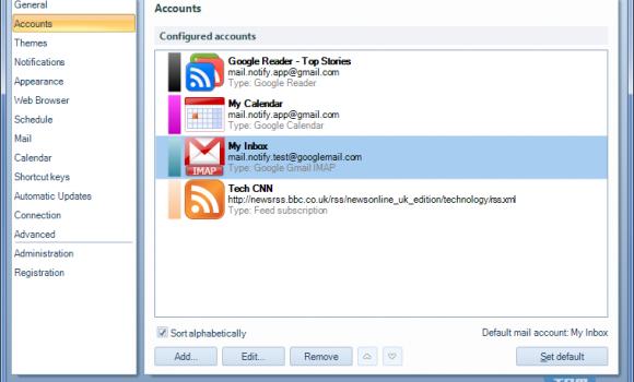 Gmail Notifier Pro Ekran Görüntüleri - 1