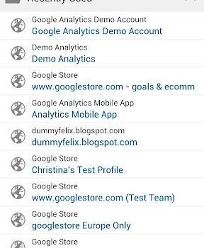 Google Analytics Ekran Görüntüleri - 5
