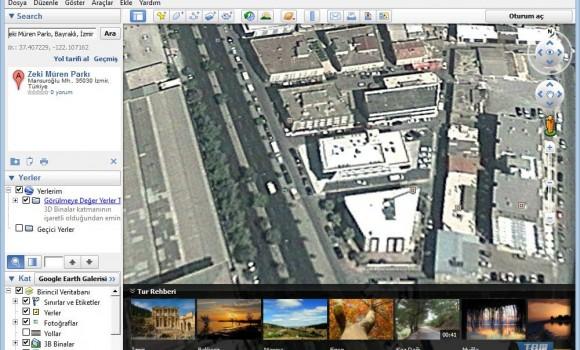 Google Earth Ekran Görüntüleri - 1