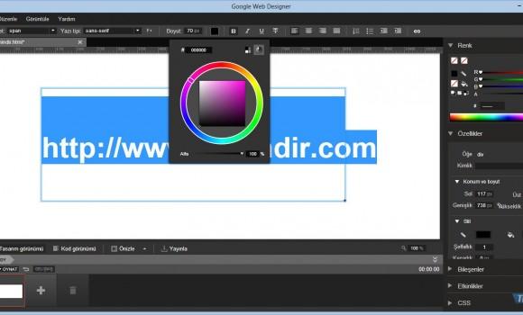 Google Web Designer Ekran Görüntüleri - 2