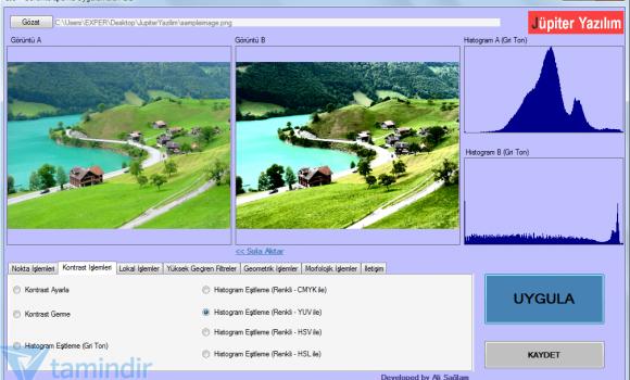 Görüntü İşleme Uygulamaları Ekran Görüntüleri - 3