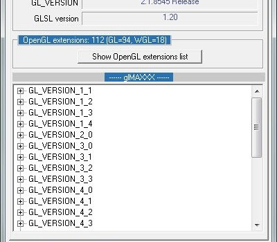 GPU Caps Viewer Ekran Görüntüleri - 2
