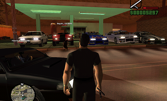 GTA San Andreas SA-MP Ekran Görüntüleri - 3