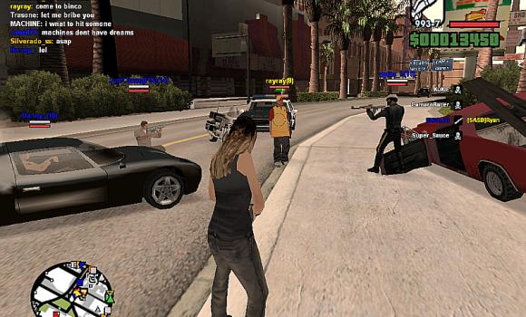 GTA San Andreas SA-MP Ekran Görüntüleri - 9