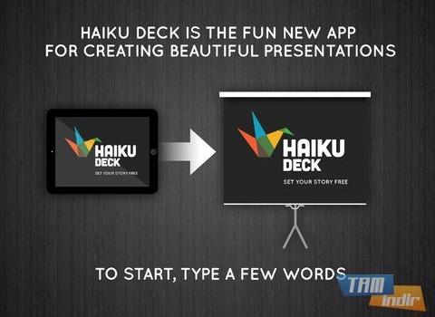Haiku Deck Ekran Görüntüleri - 5