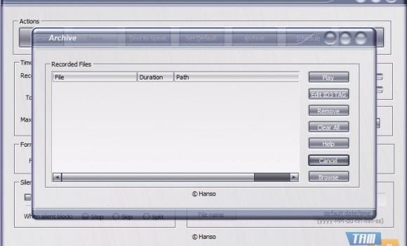 Hanso Recorder Ekran Görüntüleri - 2