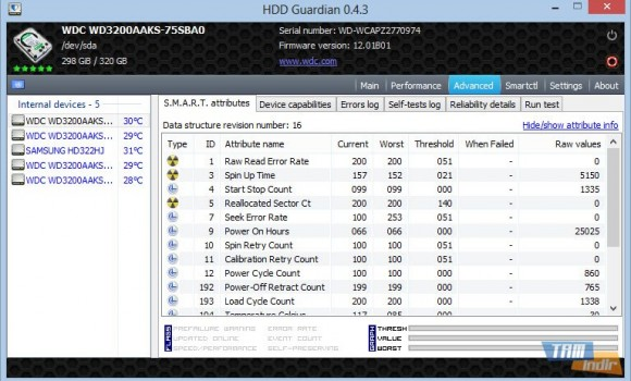 HDD Guardian Ekran Görüntüleri - 2