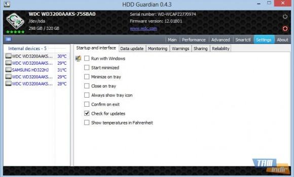 HDD Guardian Ekran Görüntüleri - 1