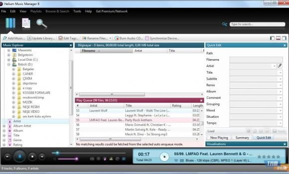 Helium Music Manager Ekran Görüntüleri - 1