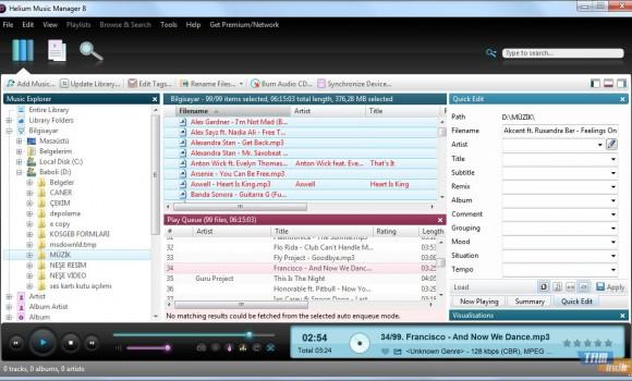 Helium Music Manager Ekran Görüntüleri - 2
