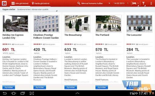 Hotels.com Ekran Görüntüleri - 5