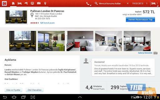 Hotels.com Ekran Görüntüleri - 6