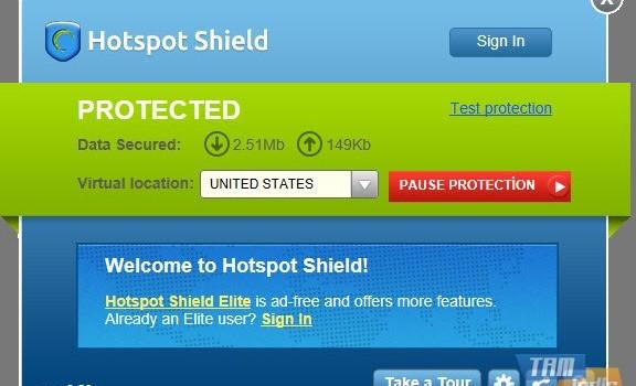 Hotspot Shield Ekran Görüntüleri - 3
