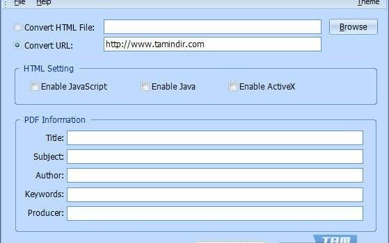 HTML to PDF Converter Ekran Görüntüleri - 1