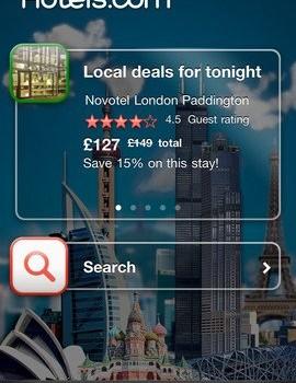 Hotels.com Ekran Görüntüleri - 1