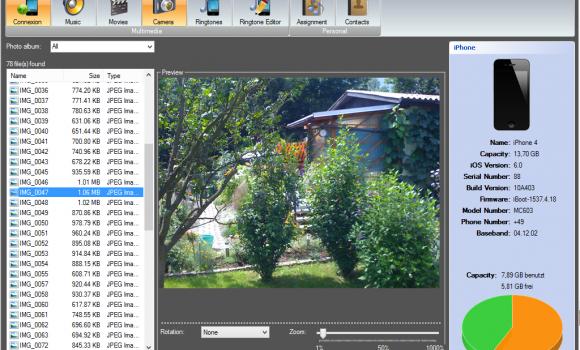 iDevice Manager Ekran Görüntüleri - 5