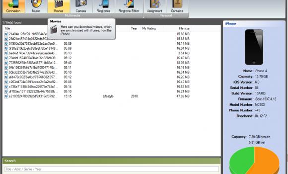 iDevice Manager Ekran Görüntüleri - 3
