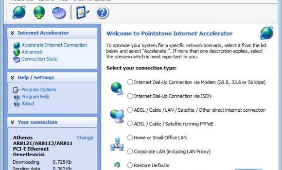 Internet Accelerator Ekran Görüntüleri - 3