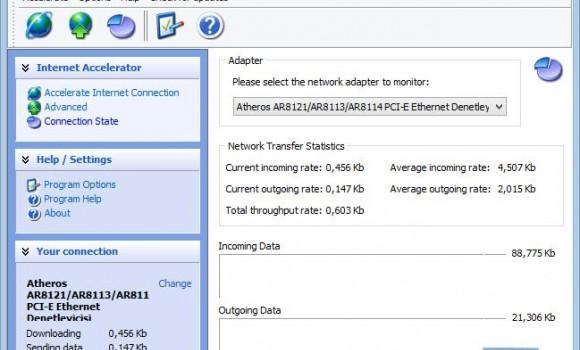 Internet Accelerator Ekran Görüntüleri - 1