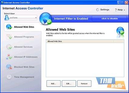 Internet Access Controller Ekran Görüntüleri - 1