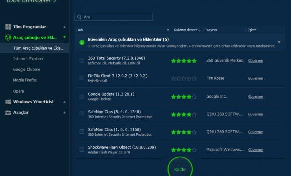 IObit Uninstaller Ekran Görüntüleri - 7
