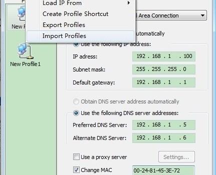 IP Change Easy Free Ekran Görüntüleri - 1