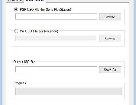 ISO Compressor Ekran Görüntüleri - 1