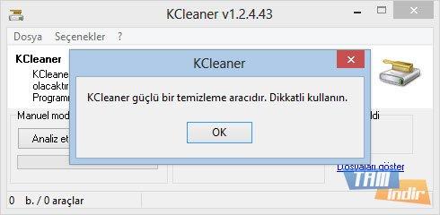 KCleaner Ekran Görüntüleri - 5