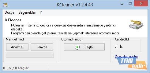 KCleaner Ekran Görüntüleri - 3