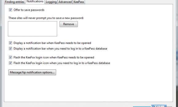 KeeFox Ekran Görüntüleri - 2