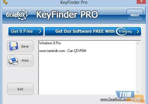 KeyFinder Pro Ekran Görüntüleri - 1