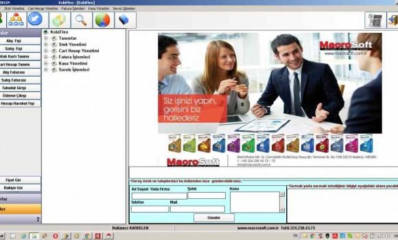 MacroSoft KobiFlex Ekran Görüntüleri - 1
