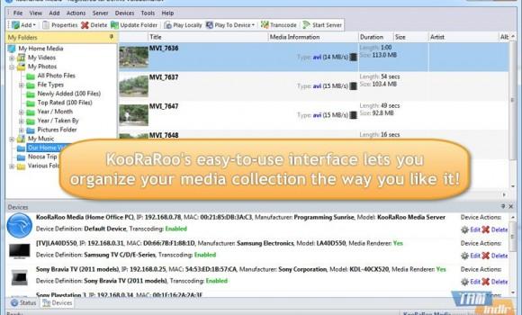 KooRaRoo Media Free Ekran Görüntüleri - 3