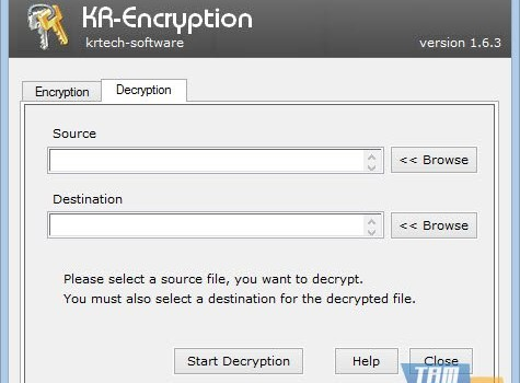 KR-Encryption Ekran Görüntüleri - 1