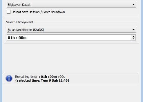 KShutdown Ekran Görüntüleri - 4