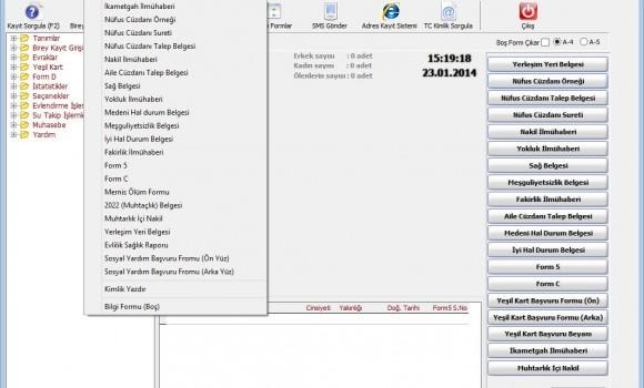 Kulacsoft Muhtarlık Ekran Görüntüleri - 1