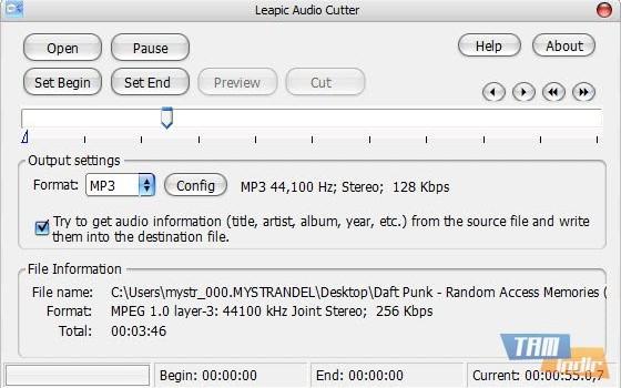 Leapic Audio Cutter Ekran Görüntüleri - 1
