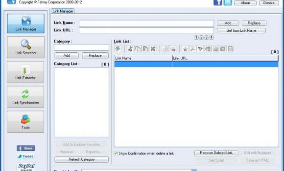 Link Manager Ekran Görüntüleri - 2