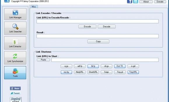 Link Manager Ekran Görüntüleri - 3