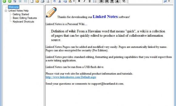 Linked Notes Ekran Görüntüleri - 5