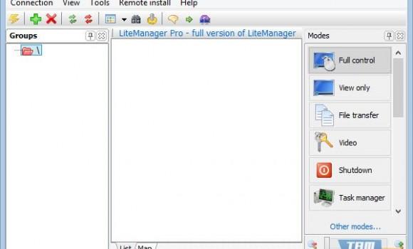 LiteManagerFree Ekran Görüntüleri - 4