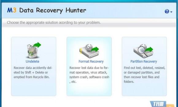 M3 Data Recovery Hunter Free Ekran Görüntüleri - 1