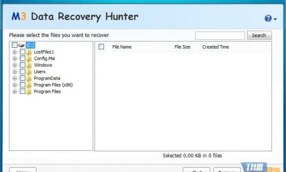 M3 Data Recovery Hunter Free Ekran Görüntüleri - 4