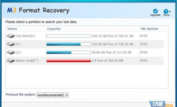 M3 Format Recovery Free Ekran Görüntüleri - 2