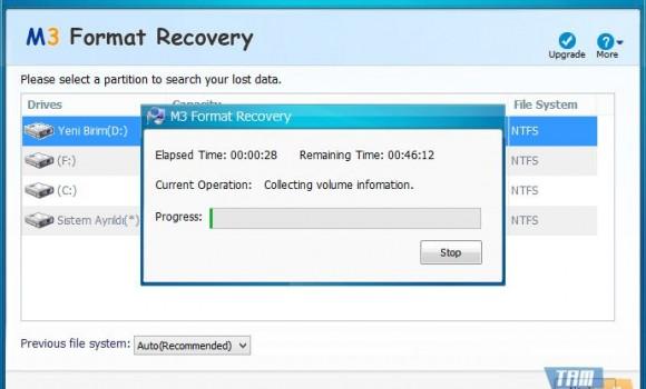 M3 Format Recovery Free Ekran Görüntüleri - 1