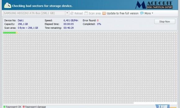 Macrorit Disk Scanner Ekran Görüntüleri - 1